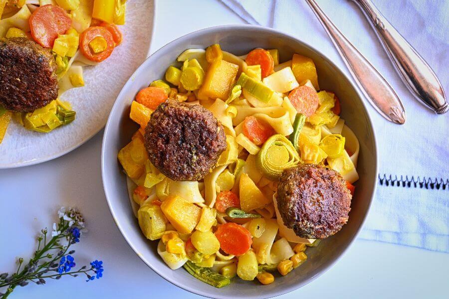 Vegetarische Fleischbällchen