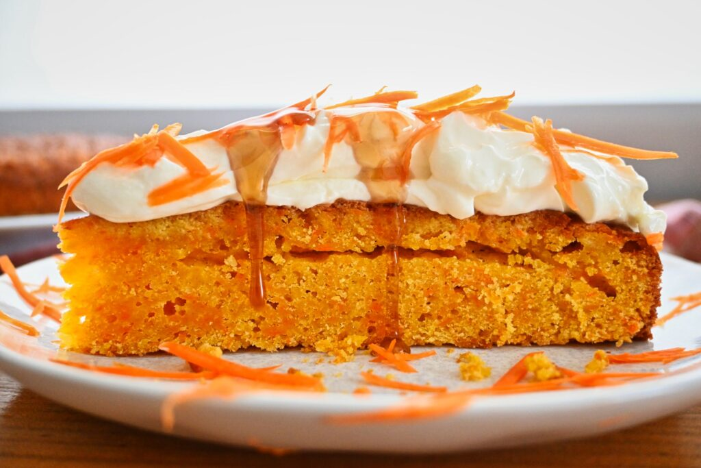 Saftiger Karottenkuchen