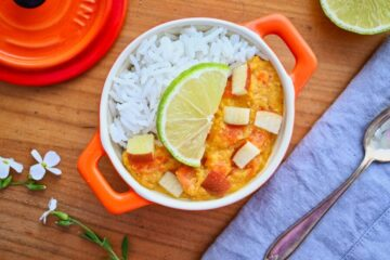 Rote Linsen Curry