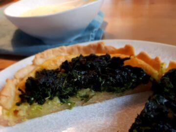 Spinat Tartelette