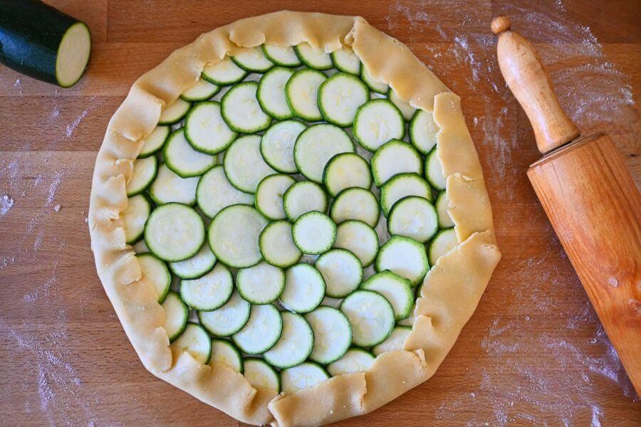 Zucchinigalette